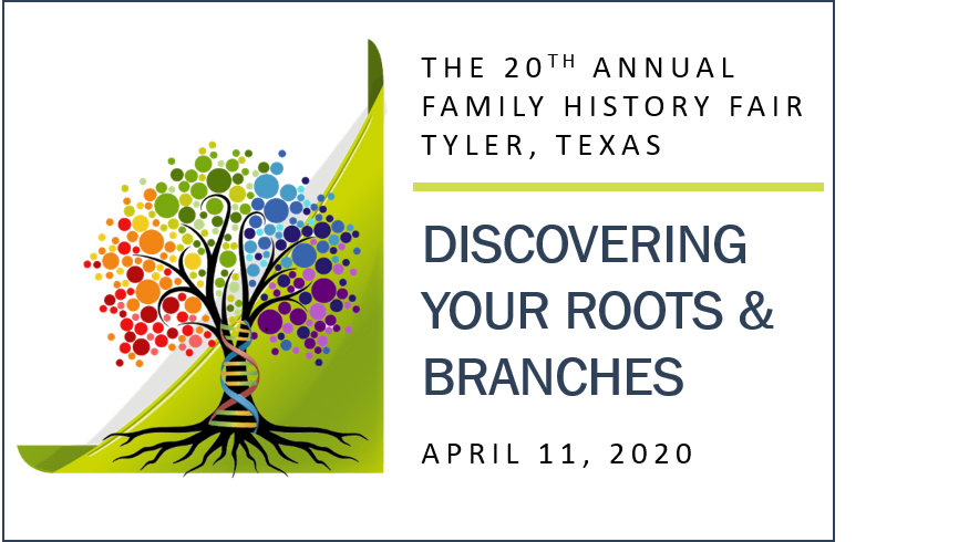 Family History Fair 2020 heading